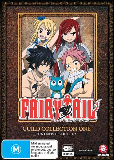 Fairy Tail Guild Collection 1 (Episodes 1-48) - ISBN