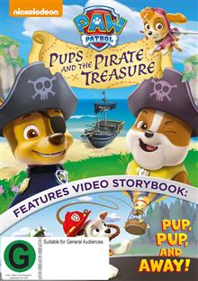 Paw Patrol - Pups And The Pirate Treasure