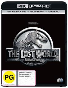Jurassic Park - Lost World, The Blu-ray + UHD + DHD