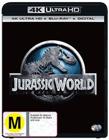 Jurassic World Blu-ray + UHD + DHD
