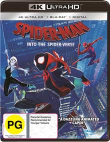 Spider-Man - Into The Spider-Verse Blu-ray + UHD + UV
