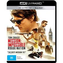 Mission Impossible - Rogue Nation 4K