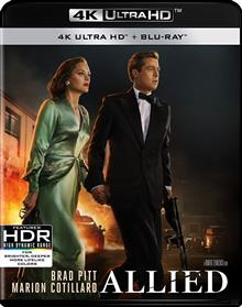 Allied Blu-ray + UHD