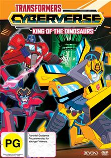 Transformers Cyberverse - King Of The Dinosaurs