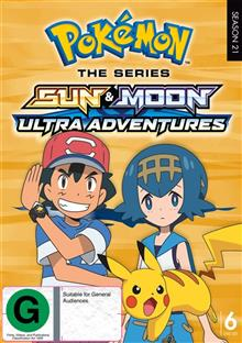 Pokemon The Series - Sun & Moon - Ultra Adventures Complete Series