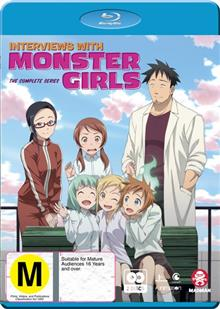 Interviews With Monster Girls Blu-ray + DVD : Complete Series