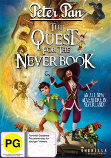 The Peter Pan - Quest For The Never Book