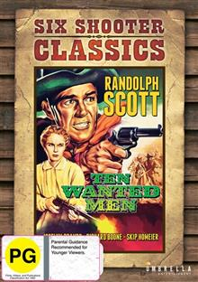 Ten Wanted Men Six Shooter Classics