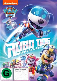Paw Patrol - Robo Dog Rescues!