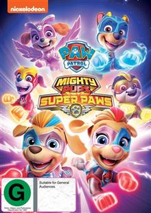 Paw Patrol - Mighty Pups - Super Paws