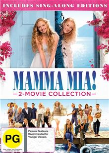 Mamma Mia! / Mamma Mia - Here We Go Again! DVD + Digital Copy : Double Pack : Franchise Pack