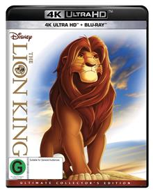 Lion King, The Blu-ray + UHD