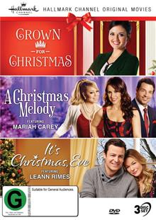 Hallmark Christmas - Crown For Christmas / Christmas Melody / It's Christmas, Eve Collection 8