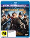 Great Wall, The 3D + 2D Blu-ray + UV