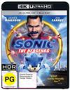 Sonic The Hedgehog Blu-ray + UHD
