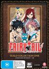 Fairy Tail Guild Collection 1 (Episodes 1-48)