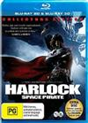 Harlock Space Pirate 3D + 2D Blu-ray