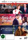 Hallmark Christmas - Santa's Secret / Family For Christmas / Mistletoe Promise, The Collection 10