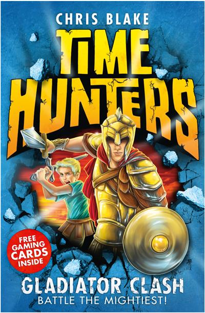 Gladiator Clash (Time Hunters, Book 1)