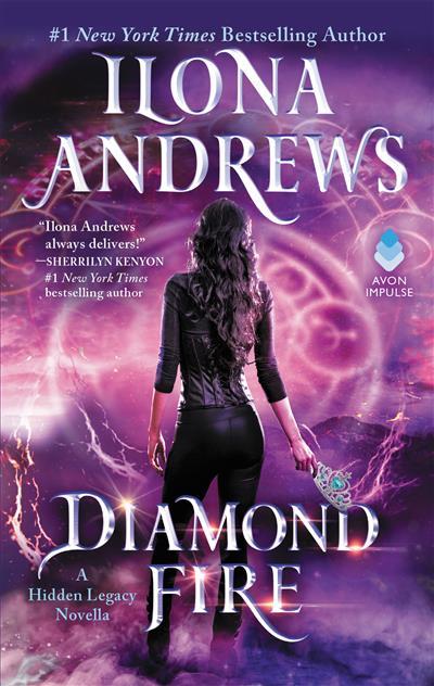 Diamond Fire: A Hidden Legacy Novella