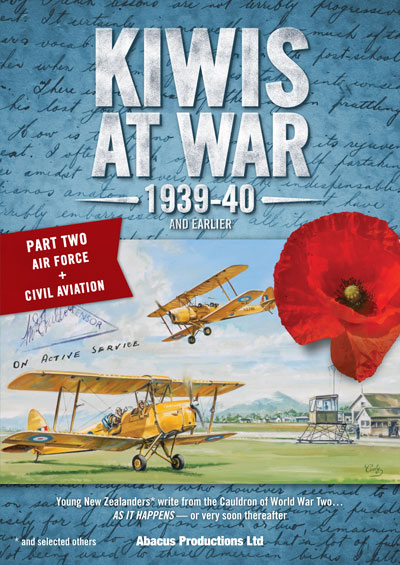 Kiwis At War 1939-40 & Earlier - Part Two - Air Force & Civil Aviation