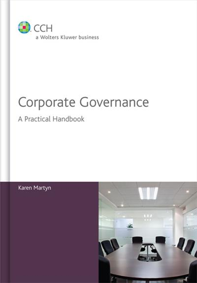 Corporate Governance: A Practical Handbook
