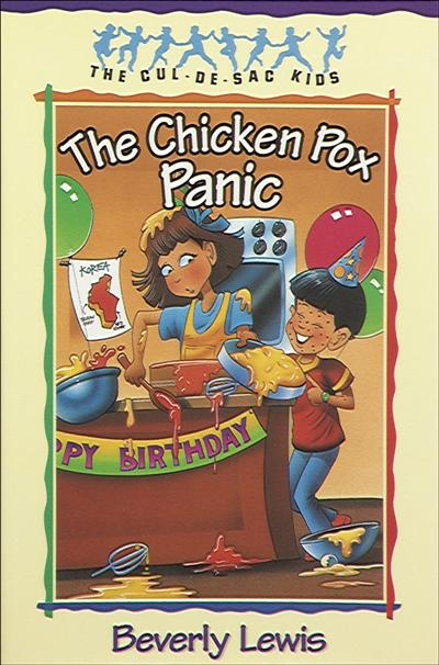 The Chicken Pox Panic (Cul-de-Sac Kids Book #2)