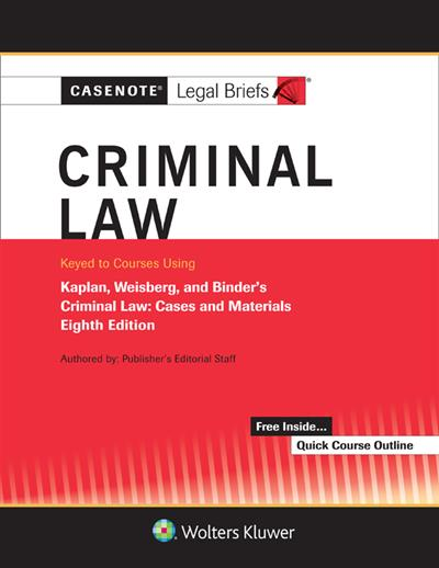 criminal justice case brief