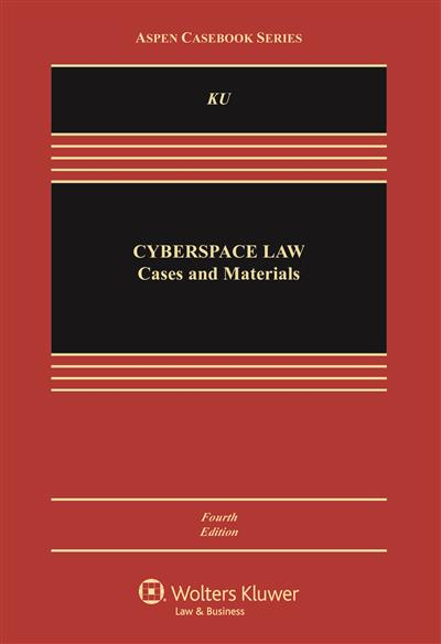 Cyberspace Law: Cases and Materials, 4th Edition