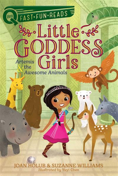 Artemis & the Awesome Animals: Little Goddess Girls 4