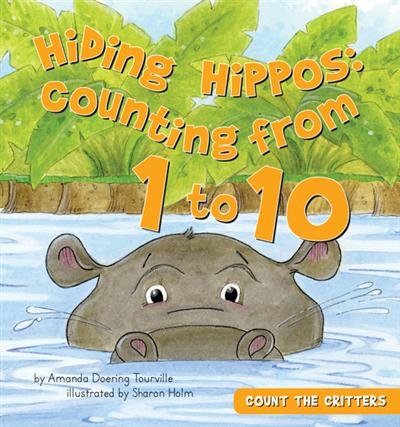 Hiding Hippos: Counting from 1 to 10 eBook