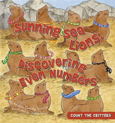 Sunning Sea Lions: Discovering Even Numbers eBook