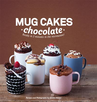 Mug Cakes Chocolate: Ready in 2 minutes in the microwave!