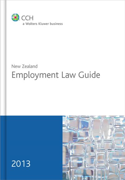 New Zealand Employment Law Guide 2013