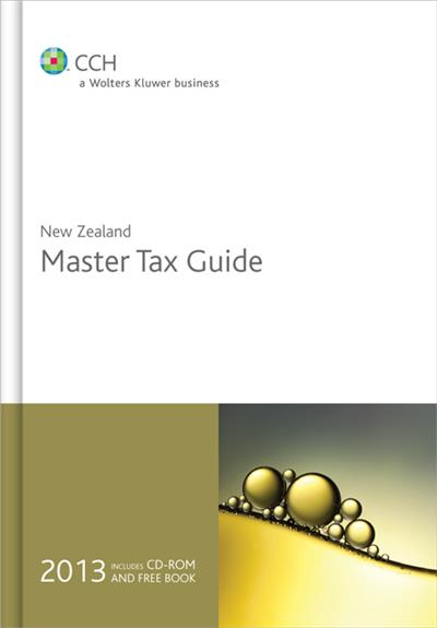 New Zealand Master Tax Guide 2013