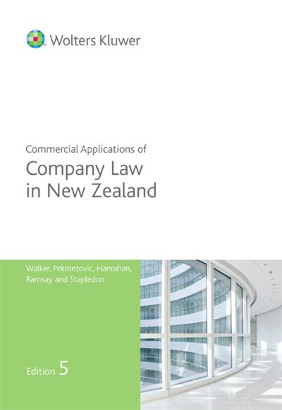 Commercial Applications of Company Law - 5th Edition