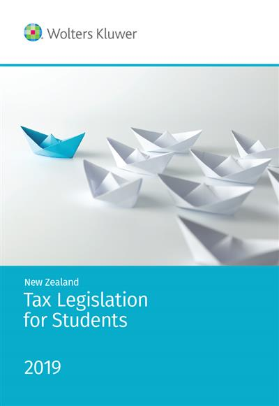 NZ Tax Legislation for Students 2019