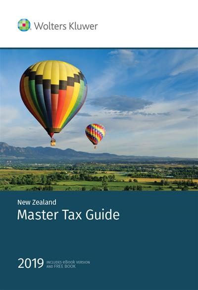 New Zealand Master Tax Guide 2019