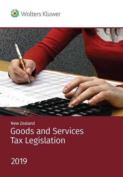 NZ Goods and Services Tax Legislation 2019
