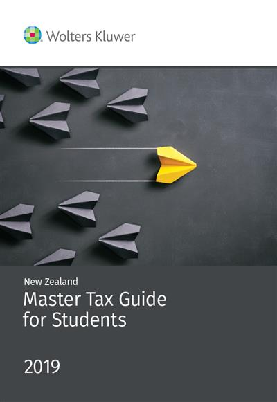 NZ Master Tax Guide for Students 2019