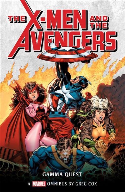 X-Men and the Avengers: Gamma Quest Omnibus: Marvel Classic novels