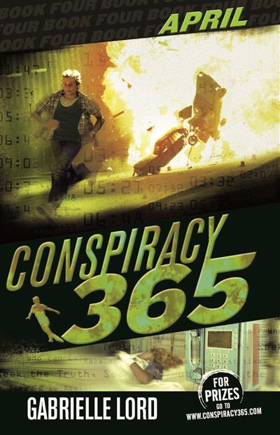 Conspiracy 365 #4: April