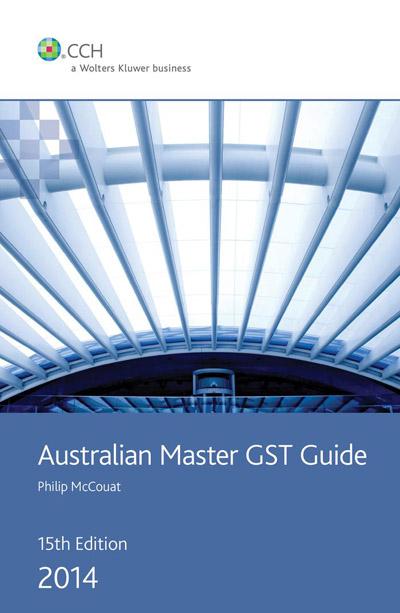 australian master gst guide 2014 cch. Black Bedroom Furniture Sets. Home Design Ideas