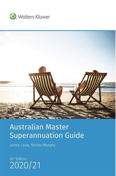 Australian master superannuation guide (2020/21) - eBook and book