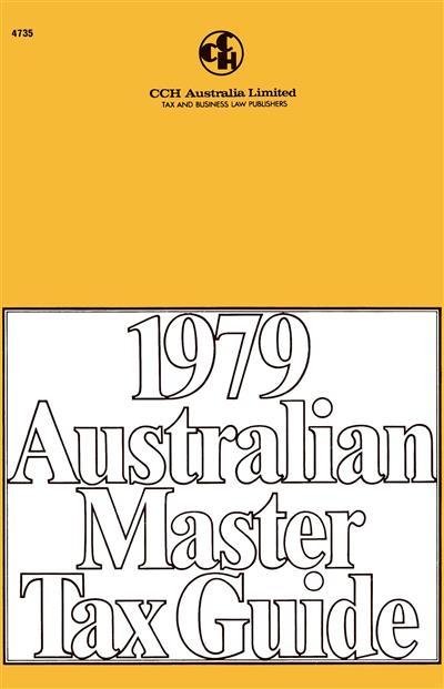 australian master tax guide pdf