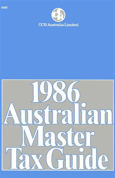 [PDF] Cch 2018 australian master tax guide - read & download
