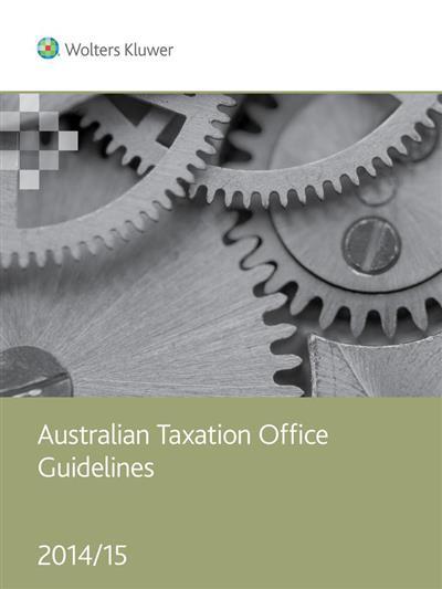 Australian Taxation Office Guidelines 2014/15