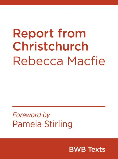 Report from Christchurch