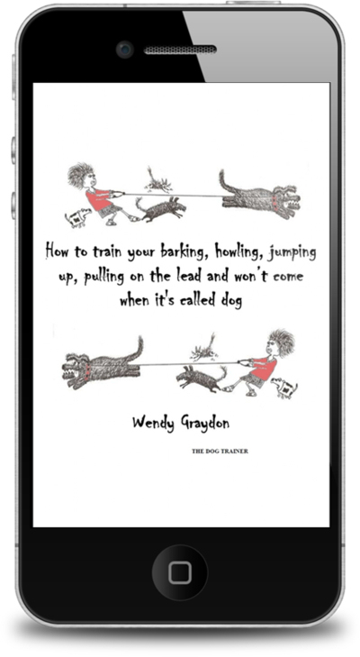 How to train your barking, howling, jumping up, pulling on the lead & won't come when it's called dog