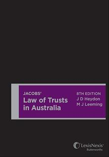 Jacobs Law of Trust
